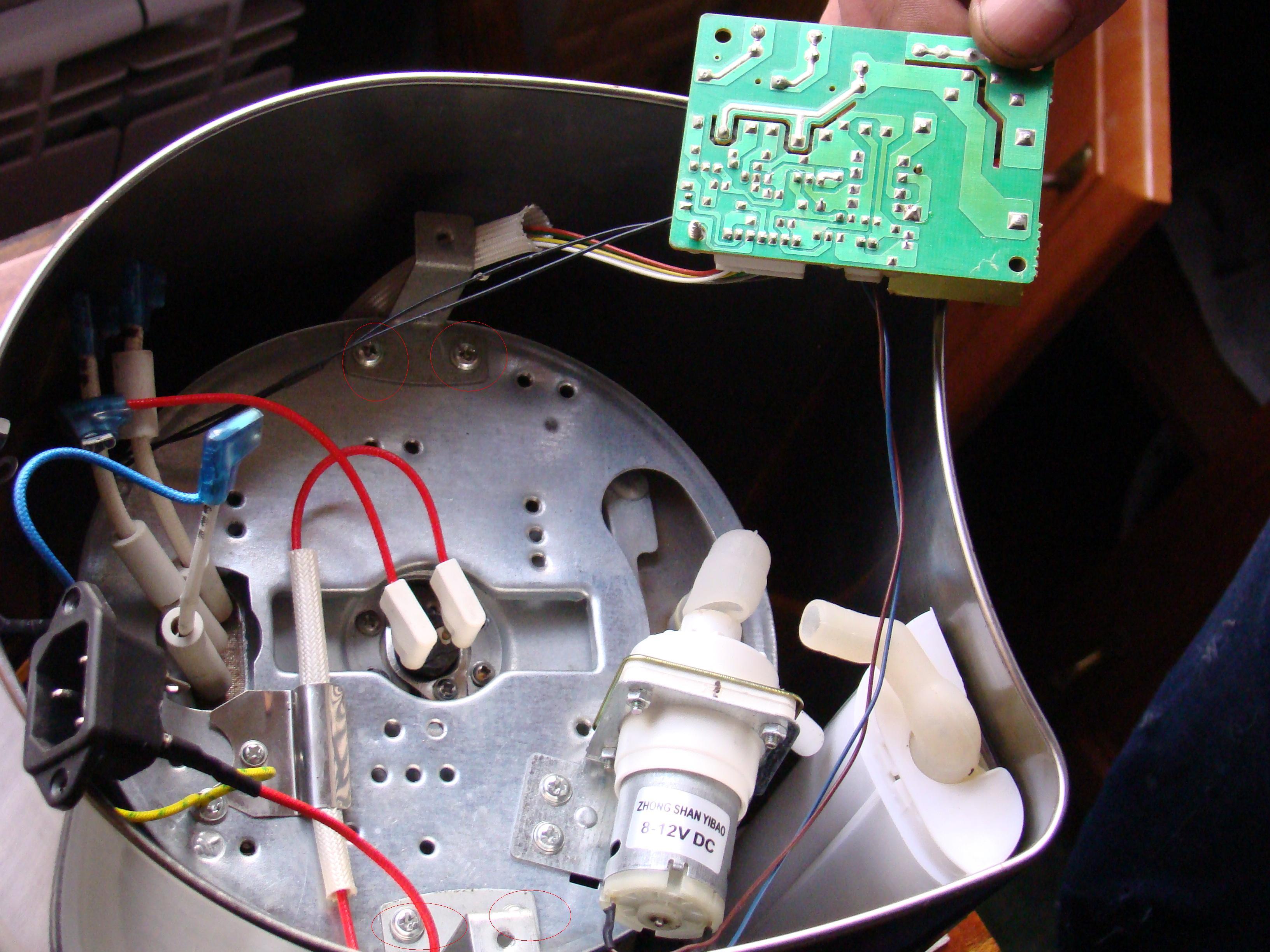 Термос электрический ремонт своими руками