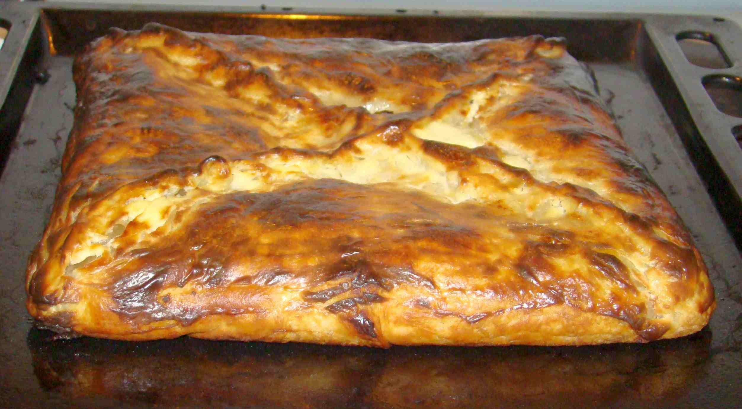 Шмуш пирог с тыквой и мясом рецепт